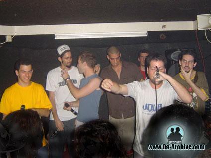 g-spot 2003, israeli hip hop show